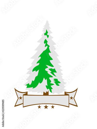 Clipart Tannenbaum Schwarz Weiß.Banner Text Name Weiß Grün Weihnachtsbaum Weihnachten Nikolaus