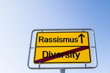 Rassismus statt Diversity