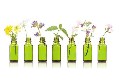 Natural remedies, aromatherapy - bottle