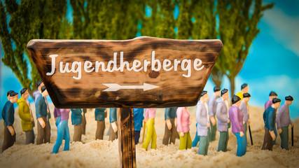 Schild 365 - Jugendherberge