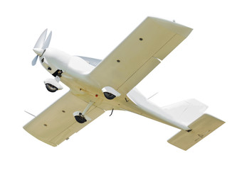 Sport aircraft isolated