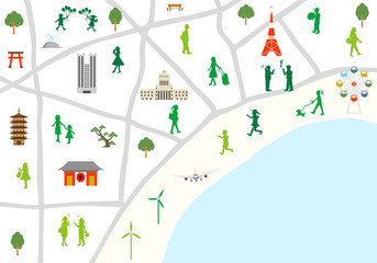 東京 マップ