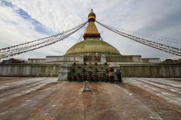 Tempio di Bodanath Nepal