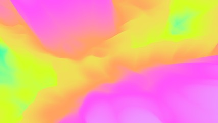 Color transition background. Splash. Cloud. Blur. Motion. 3d background. Abstract wallpaper. Substance. Trendy. Modern illustration. Render. Stylish concept. Poster.