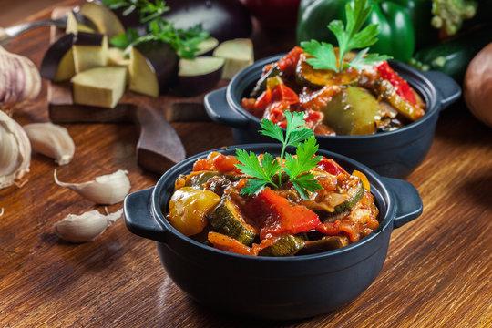 Ratatouille, delicious vegetarian stew