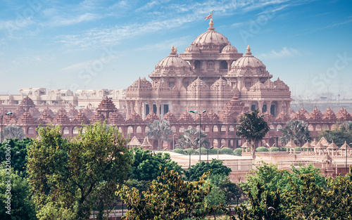 Wall mural Akshardham Temple New Delhi