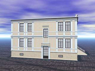 Großes Wohnhaus