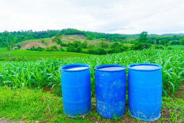 Agricultural chemicals used in corn care
