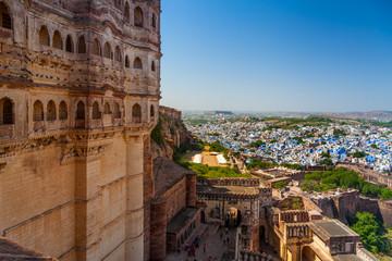 Jodhpur, die blaue Stadt, Indien