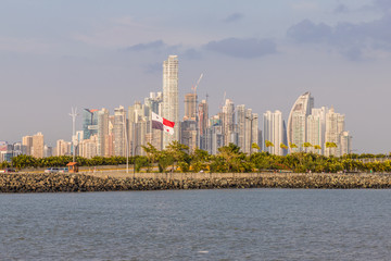 A typical view in Panama City in Panama