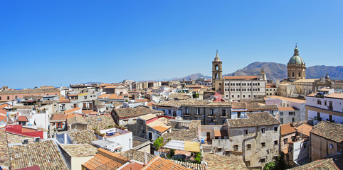 Cityscape of Palermo, Sicily