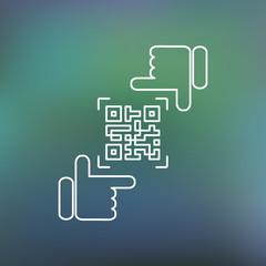 QR code framing