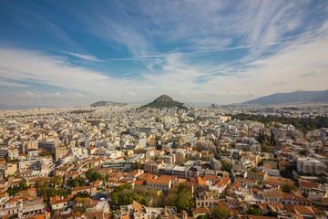 Athens city panorama, Greece