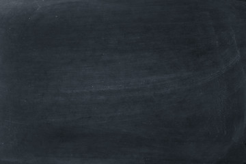 Blank blackboard background with chalk rubbed out