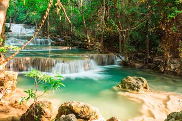 Wall Mural - Huay Mae Kamin waterfall National Park, Thailand