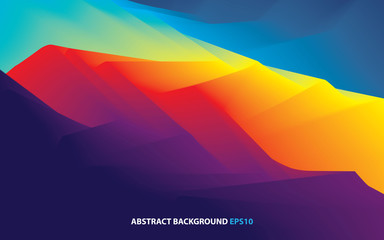 abstract wavy background dynamic effect