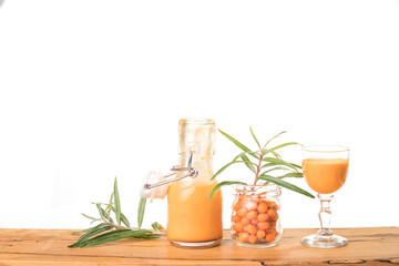 Sea buckthorn is an orange super berry with lots of vitamins 