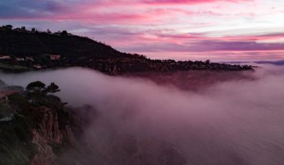 Malaga Cover Sunset Southern California Cove Palos Verdes