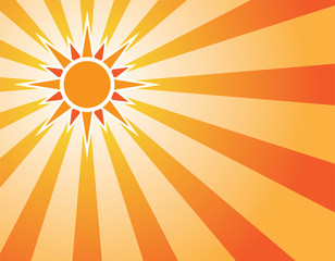 Sunny Sunrise Background