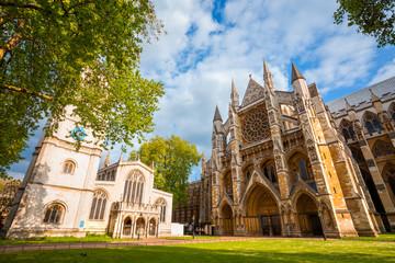 Westminster Abbey church in London, UK Fototapete