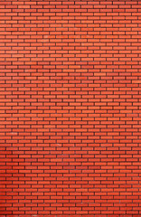 Red brick wall texture bacgruond