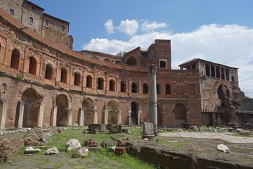 Trajan forum markets complex in Rome