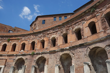 Trajan forum markets complex in Rome