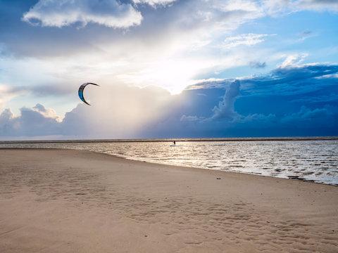 Kitesurfer in St. Peter-Ording