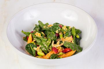 Fruit salad with mushmulla