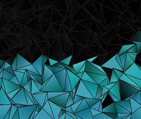 Triangular 3d, modern background