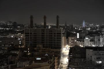 Barrio del Poble-sec en Barcelona ciudad