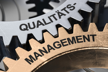 3D Illustration Qualitäts- Management