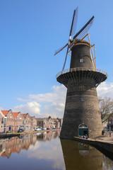 Windmühle, Schiedam, Niederlande
