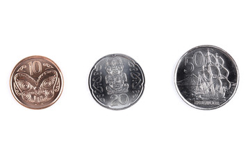 Coins from New Zealand