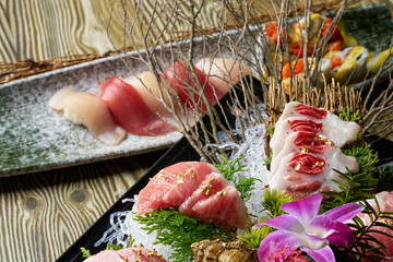 Slice Of Raw Tuna, Sashimi