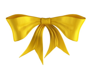 yellow ribbon bow knot