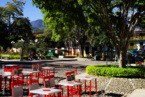 Picturesque Town Of Jardin Antioquia Colombia South America