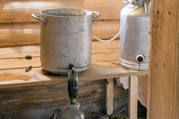 Moonshine. Manufacture of moonshine in Russia