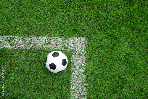 green grass football field high definition football field ball on green grass soccer background texture