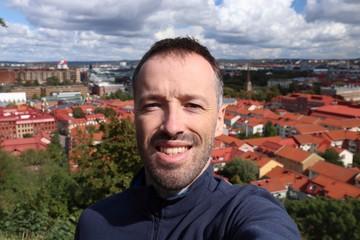 Sweden tourist selfie
