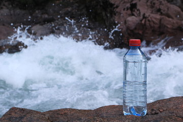 Picture of a plastic bottle.