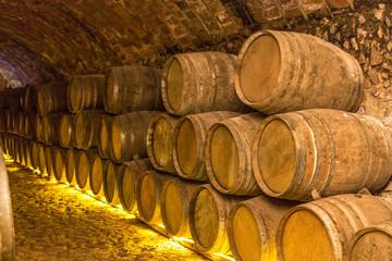Wall Mural - Wine barrels