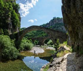 Old stone bridge - Zagori, Epirus, Greece