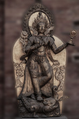 Statue in Patan, Nepal