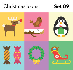 Christmas Icon – Set 09