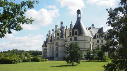Frankreich: Schloss Chambord, Loireschloss