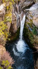 Waterfall in the Tongariro National Park New Zealand