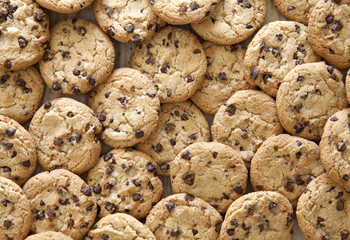Self adhesive Wall Murals Cookies Chocolate Chip Cookies