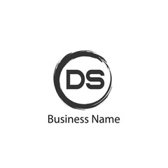 Initial Letter DS Logo Template Design