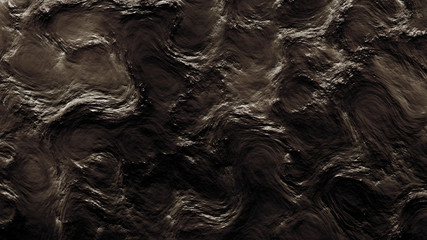 Black texture background metal. 3d illustration, 3d rendering.